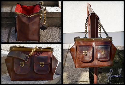 Leander - leather bag