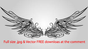 Ornamentall Wing Vector