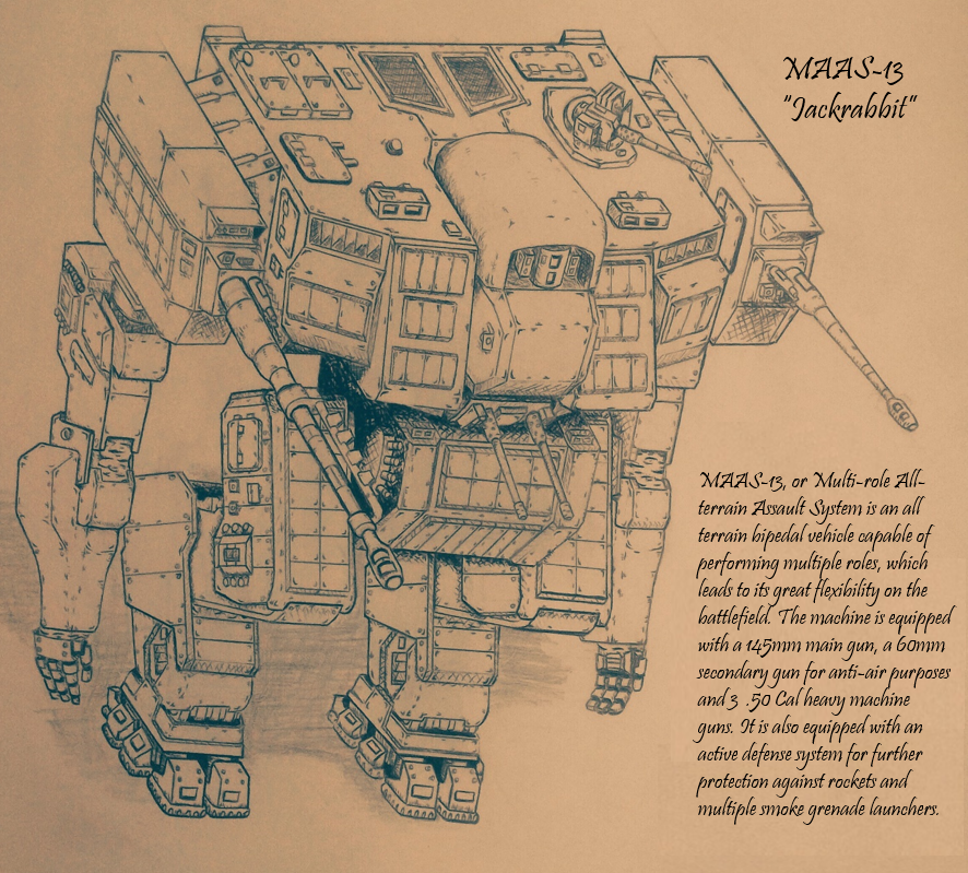 MAAS-13 late production type-2 by LeroyEpic101 on DeviantArt