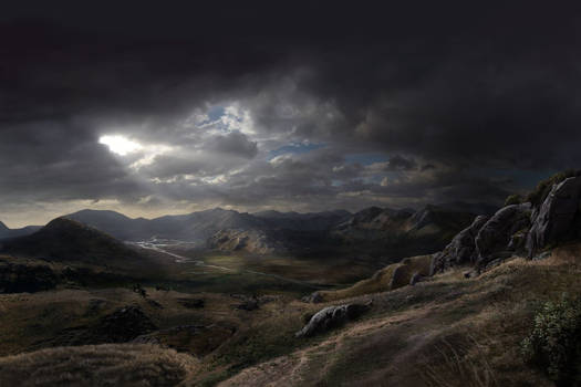 New Anchorage Matte Painting