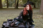 Black Elegance Historic Gown