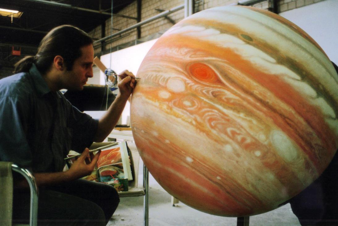 Jupiter model matte painting by Jacklionheart on DeviantArt