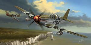 P-51 Flying Cadillacs by Jacklionheart