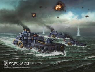 Dystopian Wars Union Fleet