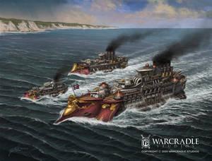 Dystopian Wars Britannia Battlegroup