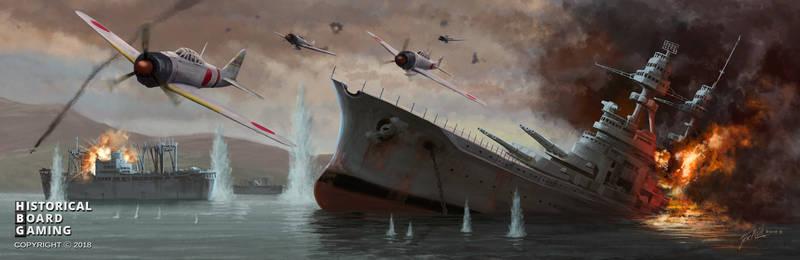 HGB Global War 1936 Battleboard Attack