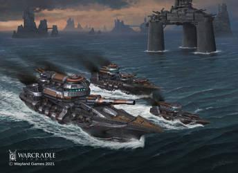 Dystopian Wars Imperium Battlefleet