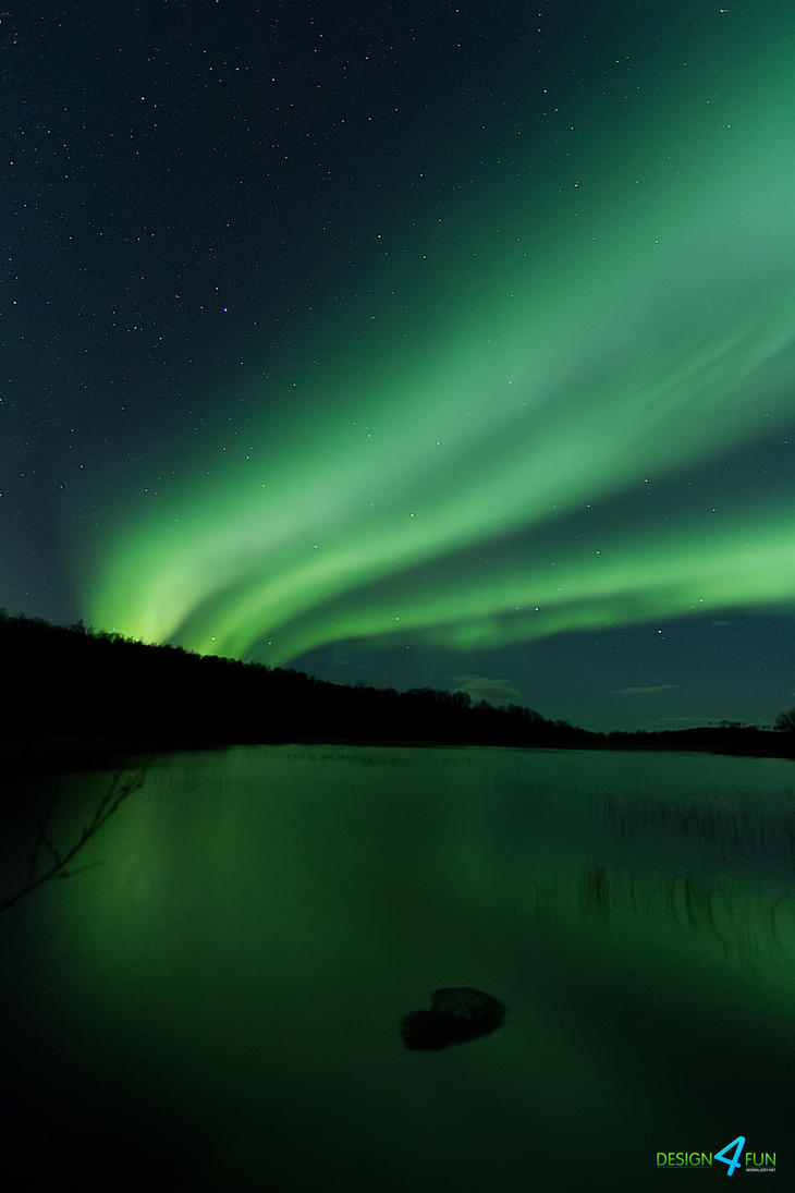 Aurora Borealis - Green highway to heaven by jzky