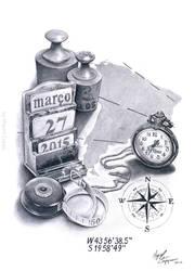 Tattoo design by miguelzuppo