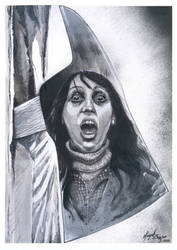 The Shinning-Wendy Torrance by miguelzuppo