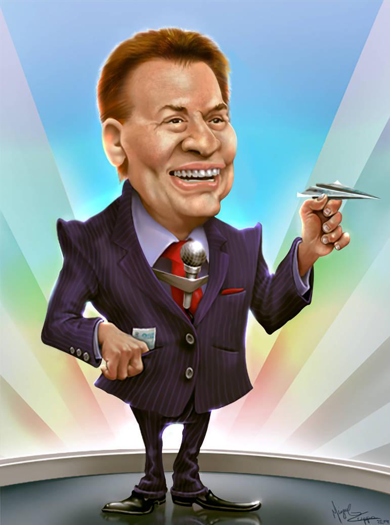 Silvio Santos by miguelzuppo