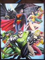 Justice League by jundybaldo