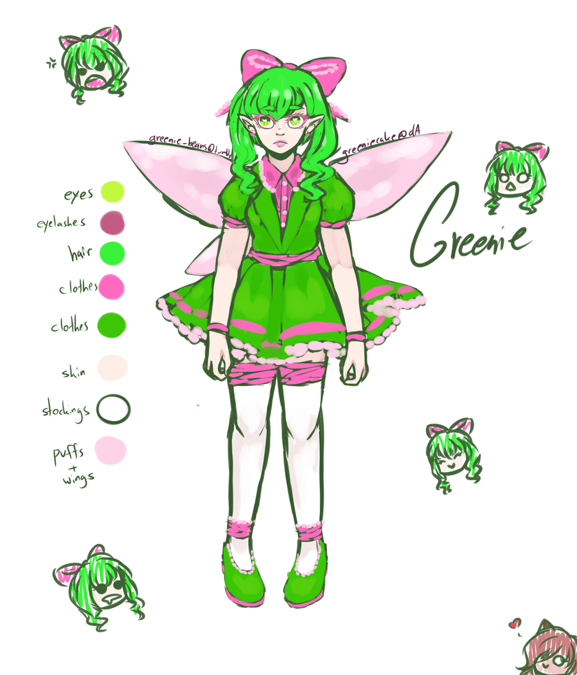 the most creative color by GreenieCake