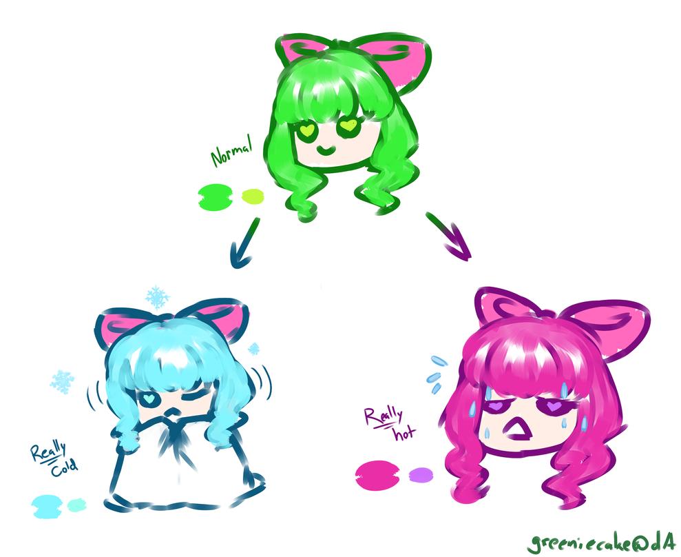 greenie hair ref by GreenieCake