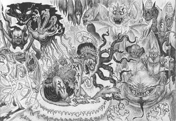 cursed daggers by CodeinCat