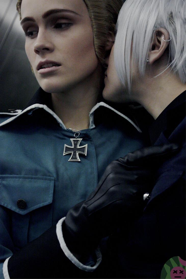 Hetalia: Germany x Prussia by DeadMelonPhotography