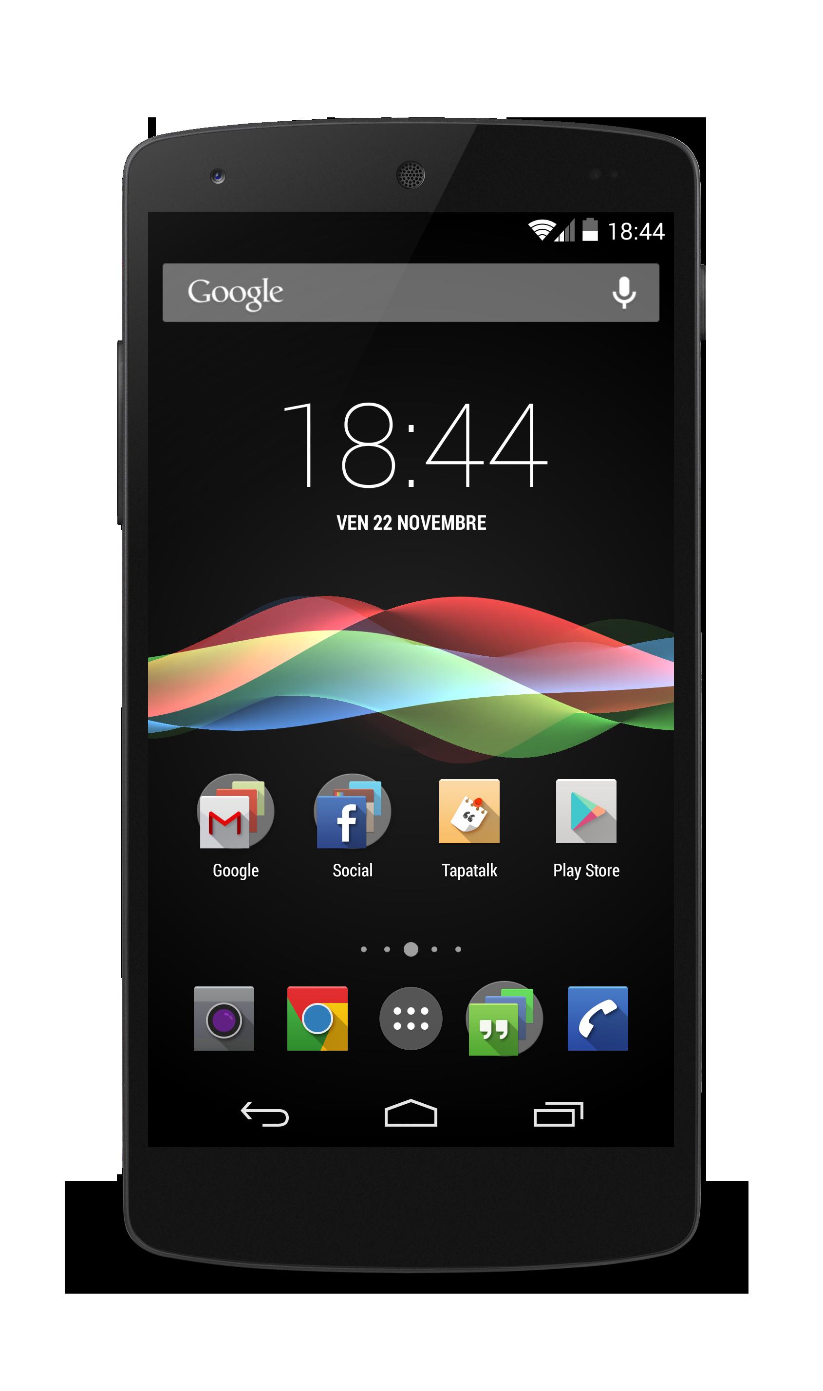 New Nexus 5 shot :) by GenerationLost on DeviantArt  Nexus 5 Phone Png
