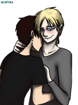 Stick and Terry (A3Vampire-Fangs' oC) (OLD)