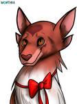 Art trade: Ren (Bunnylover-22's OC) (OLD)