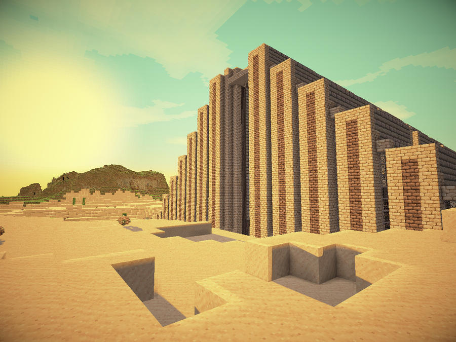 Desert Library-Minecraft by SylphViper
