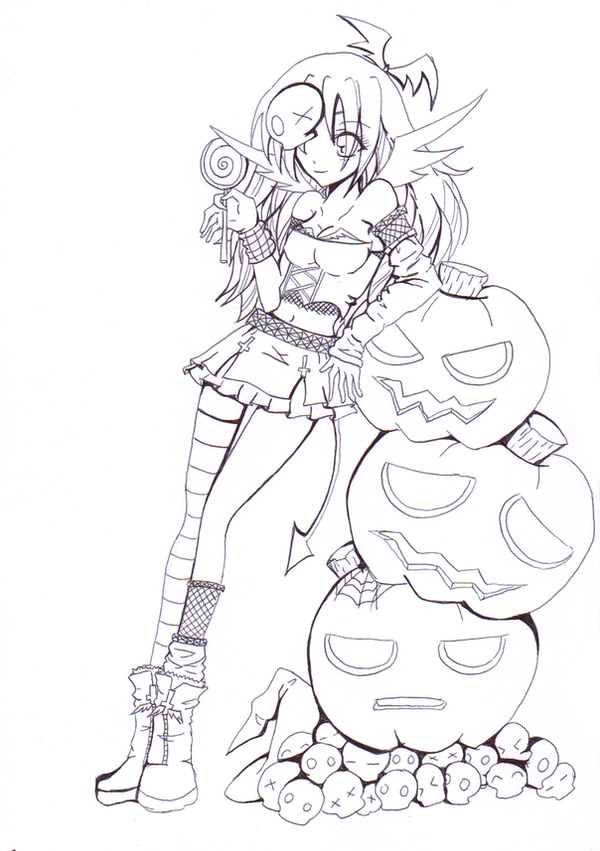 Line Art Halloween : Images about coloring pages lineart on pinterest