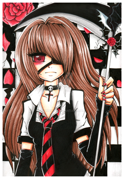 A Black Flower