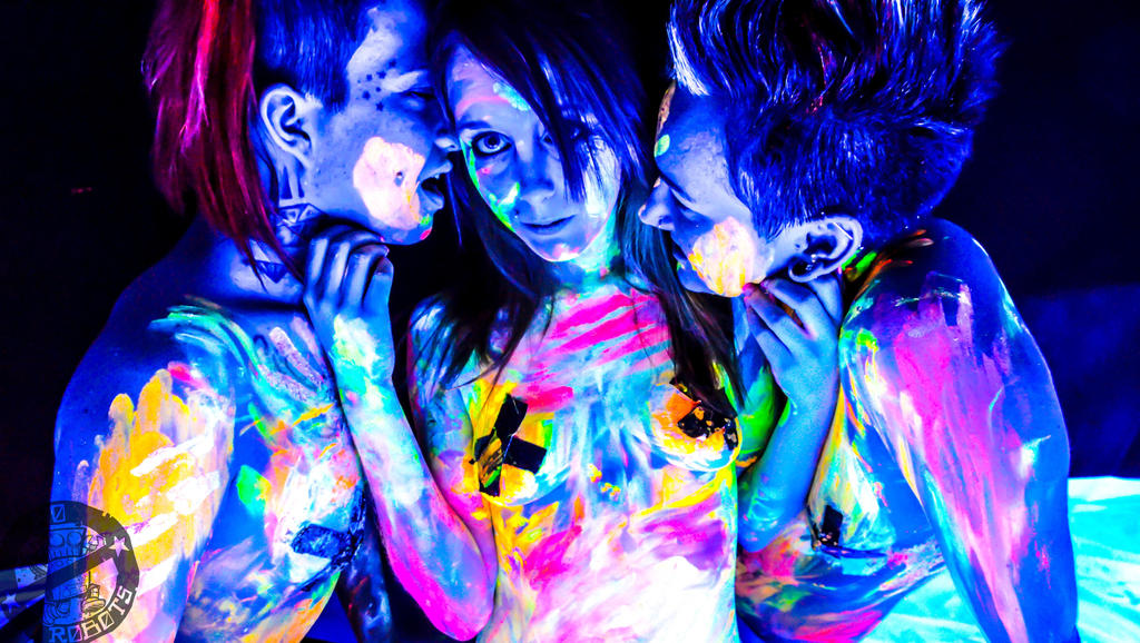 Blacklight Paint By Norobotsphotography