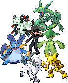 My Pokemon Team by CodyCP