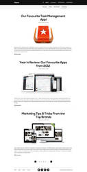 Classic - Free Blog Template by designerfirst
