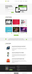 Limelight - Free PSD Web Template by designerfirst