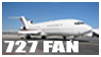 727 stamp by Aviation-nation