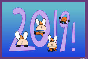 Happy 2019! by bunzuli