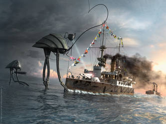 War of the Worlds Thunderchild by TroC--czarnyrobert