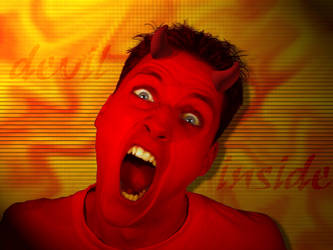 Devil Inside NEW by kinghenne