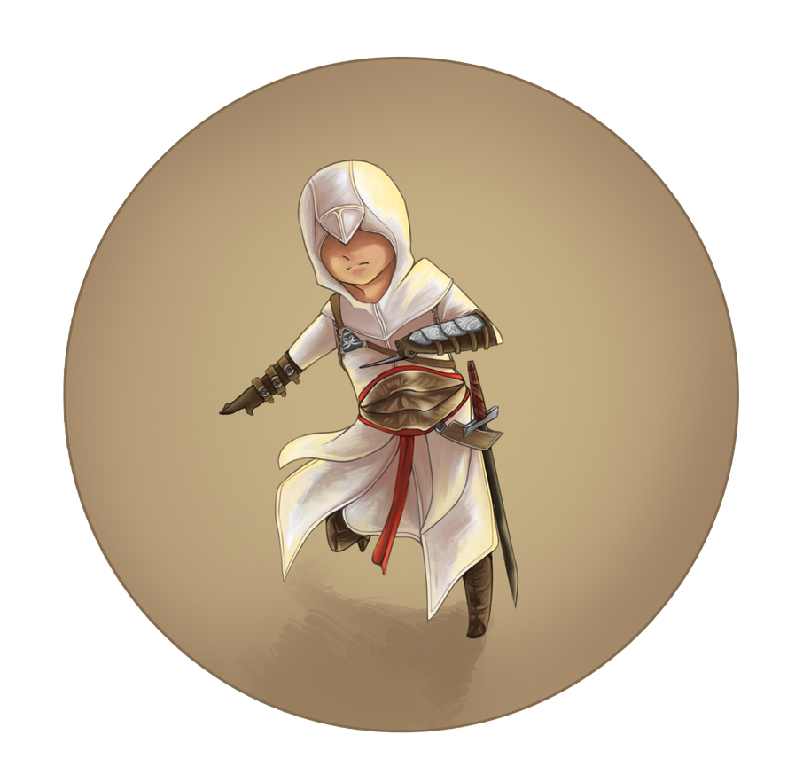 Altair Chibi by HolzyWolzy