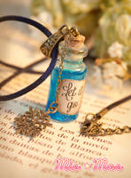 Let it Go - Frozen Potion Necklace by MieMoe