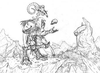 Alternate Skeletor by chakanforeverman