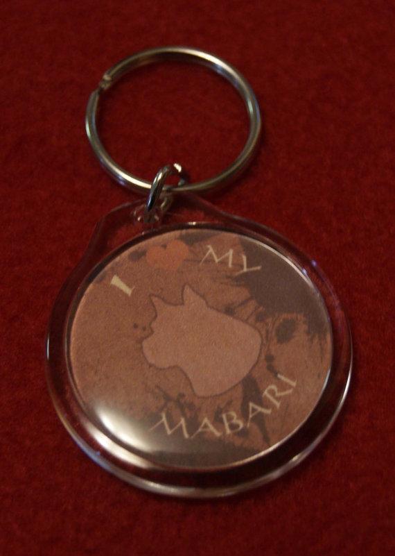 Mabari Keychain by Darkauthor81