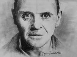 Hannibal Lecter Drawing! by Skyfire132