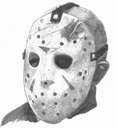 Jason Voorhees Drawing by Skyfire132 on DeviantArt