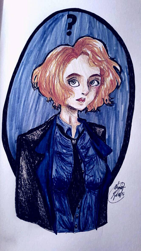 Scully by Shadowsphinx