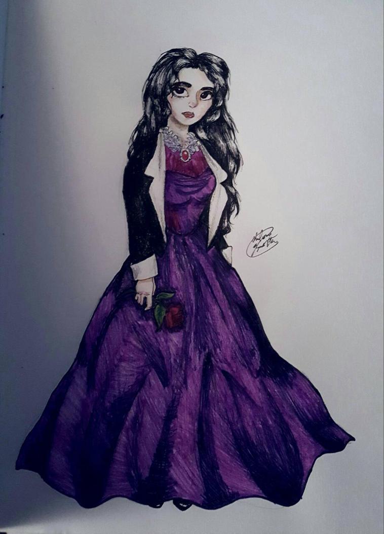 Violet Dress by Shadowsphinx