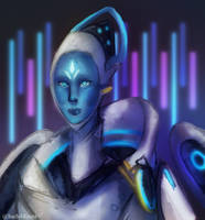 [OVERWATCH] Echo (Giveaway Prize) by SachiMizora