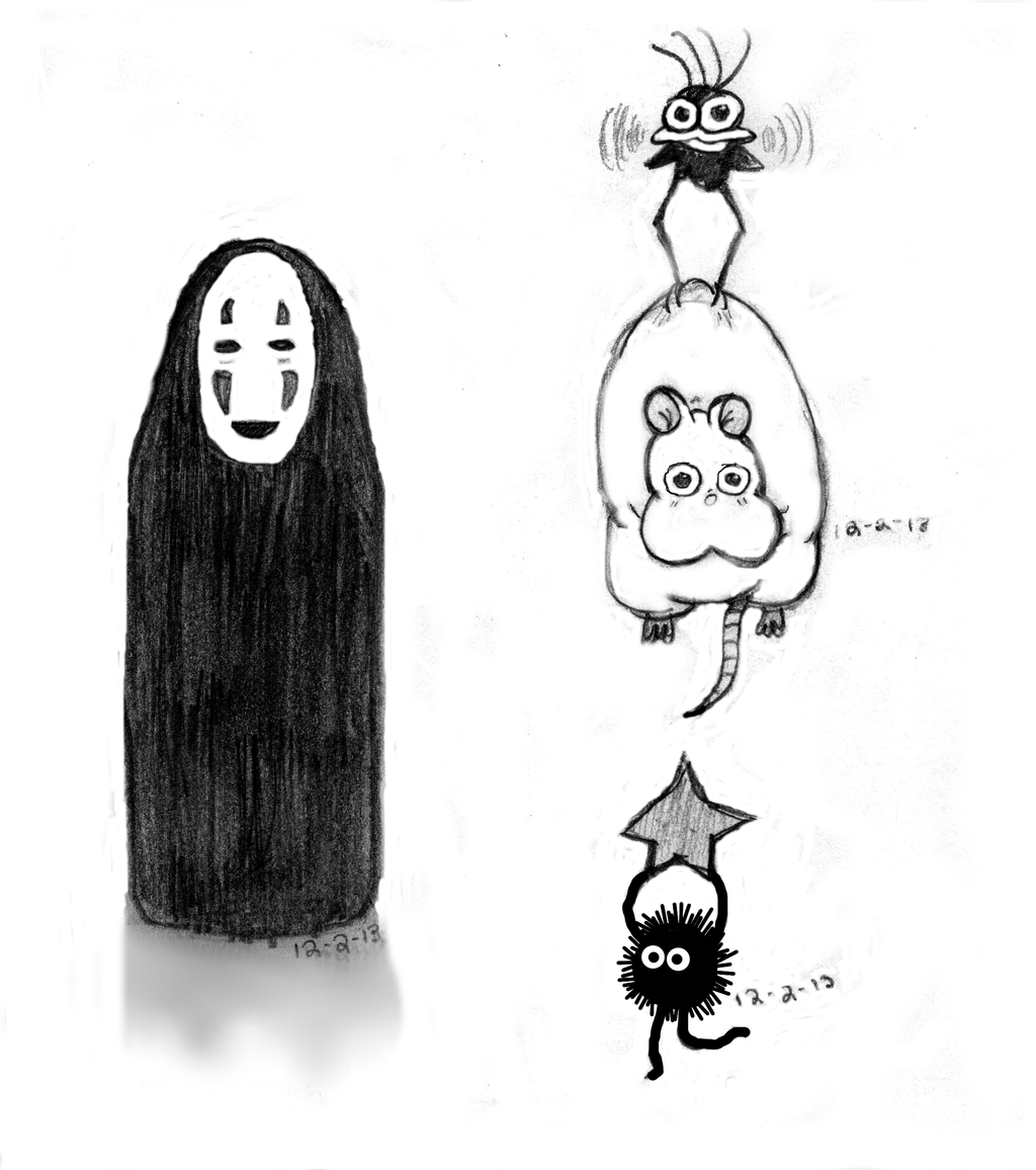 Spirited Away Characters by KiraMisaki314 on DeviantArt