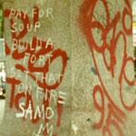 Text Icon - Basquiat I by Ganesha