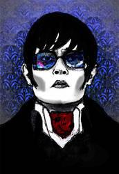 Dark Shadows Portrait