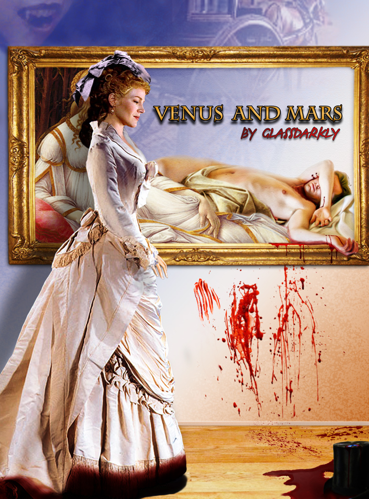 "Poster for Glassdarkly's  ""Venus and Mars"""