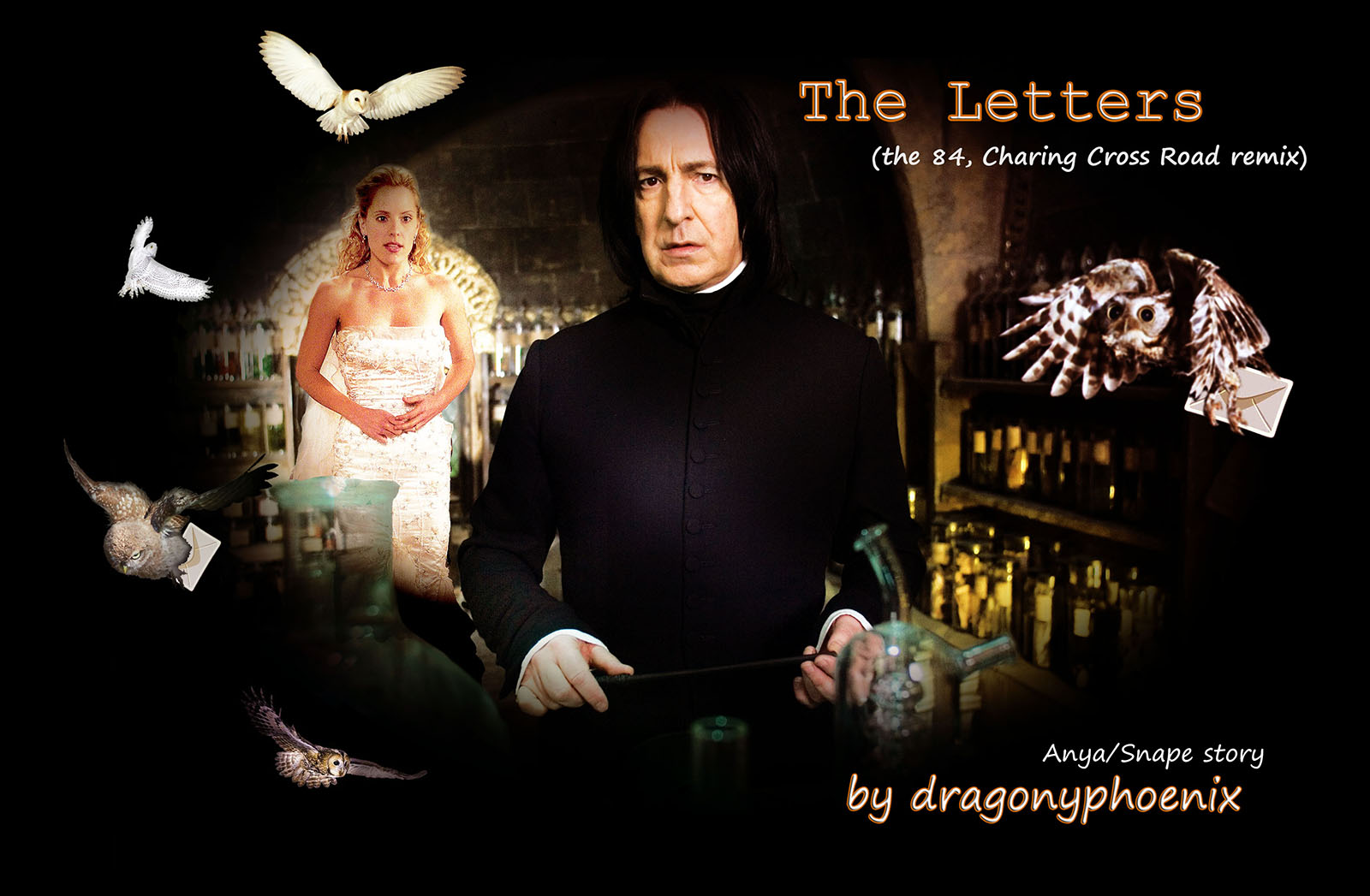 The Letters (Anya/Snape)