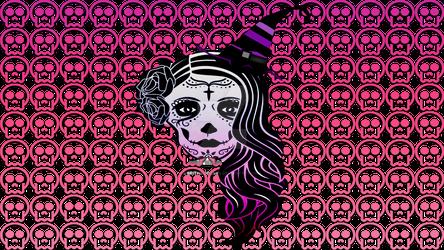 Witchy Dia De Los Muertos