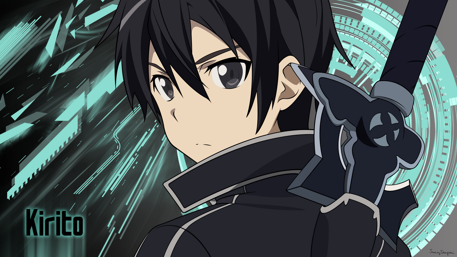 sword art online - What is causing Kirito'-s eyes to change colour ...